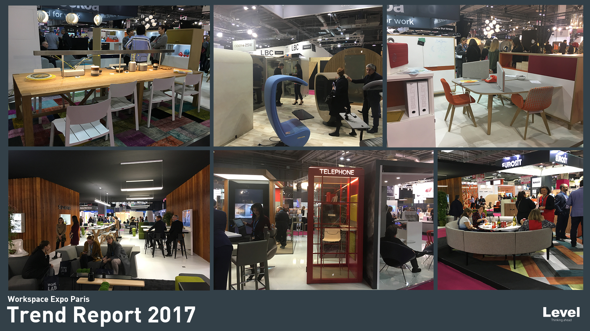 Workspace expo paris 2017 level office landscape level for Exposition paris 2017