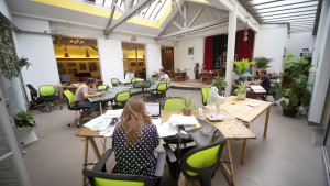 Mutinerie village digital nomads level office landscape 2