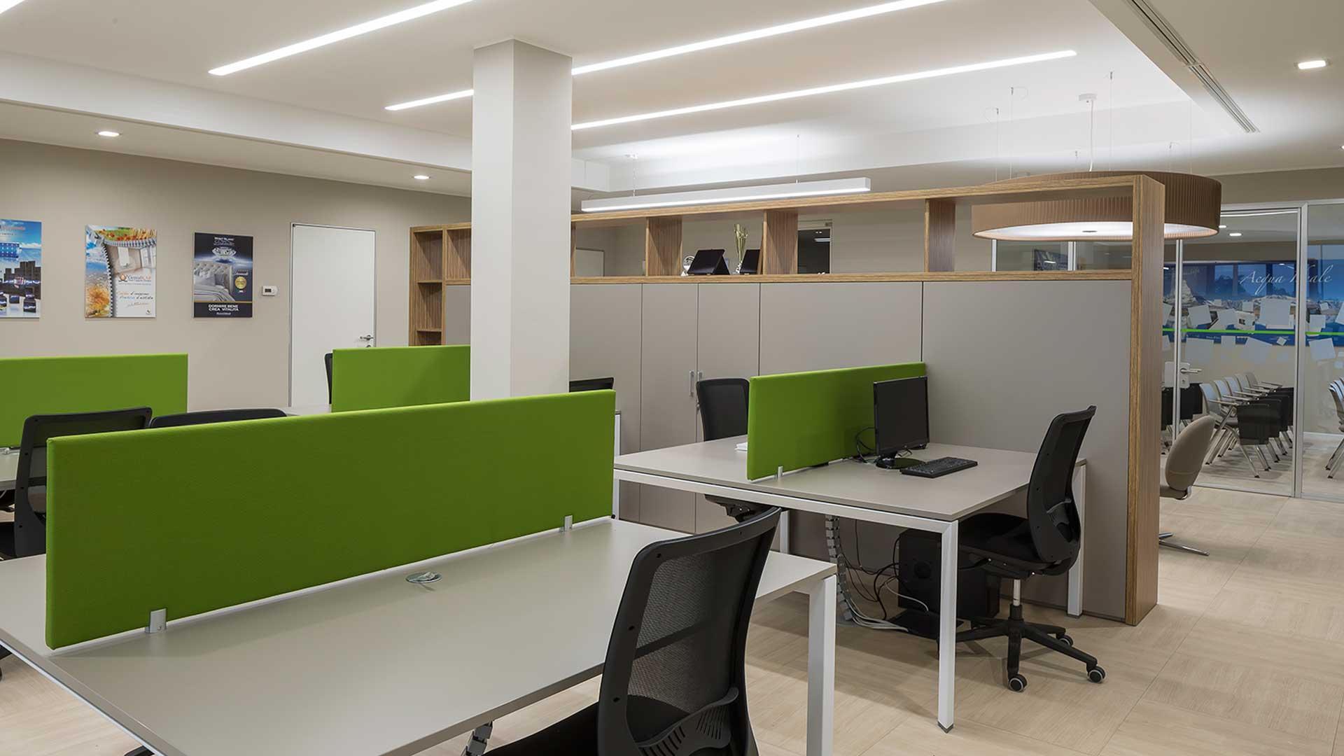 pareti-attrezzate-per-ufficio-Level-Office-Landscape