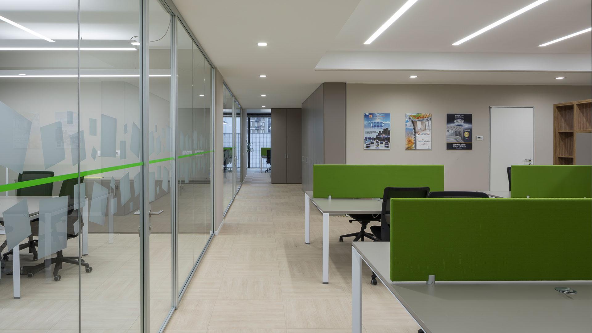Nuovi scenari dell'ufficio sicuro Level Office Landscape