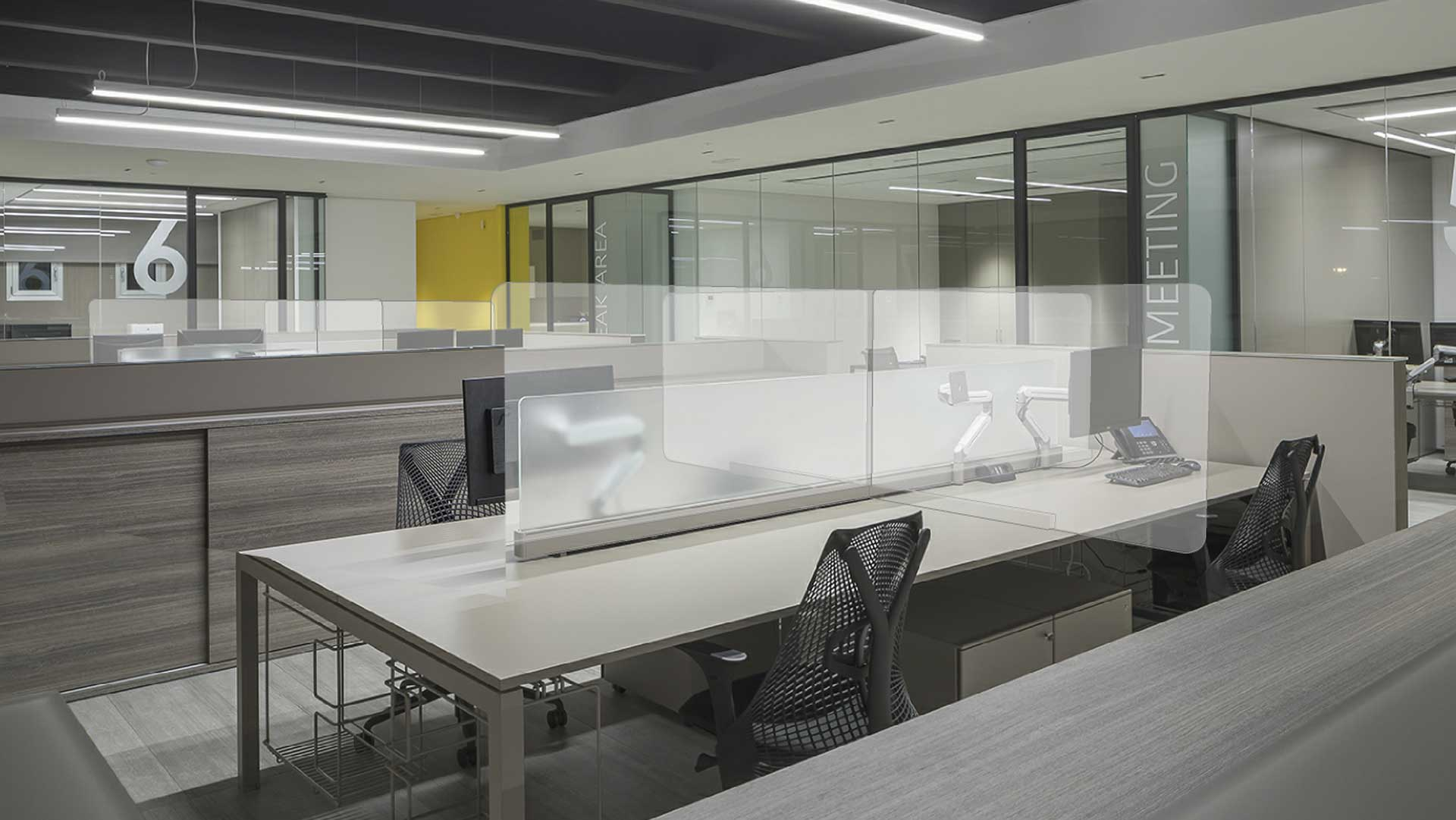 Screen-di-separazione-ufficio-vetro-Level-Office-Landscape