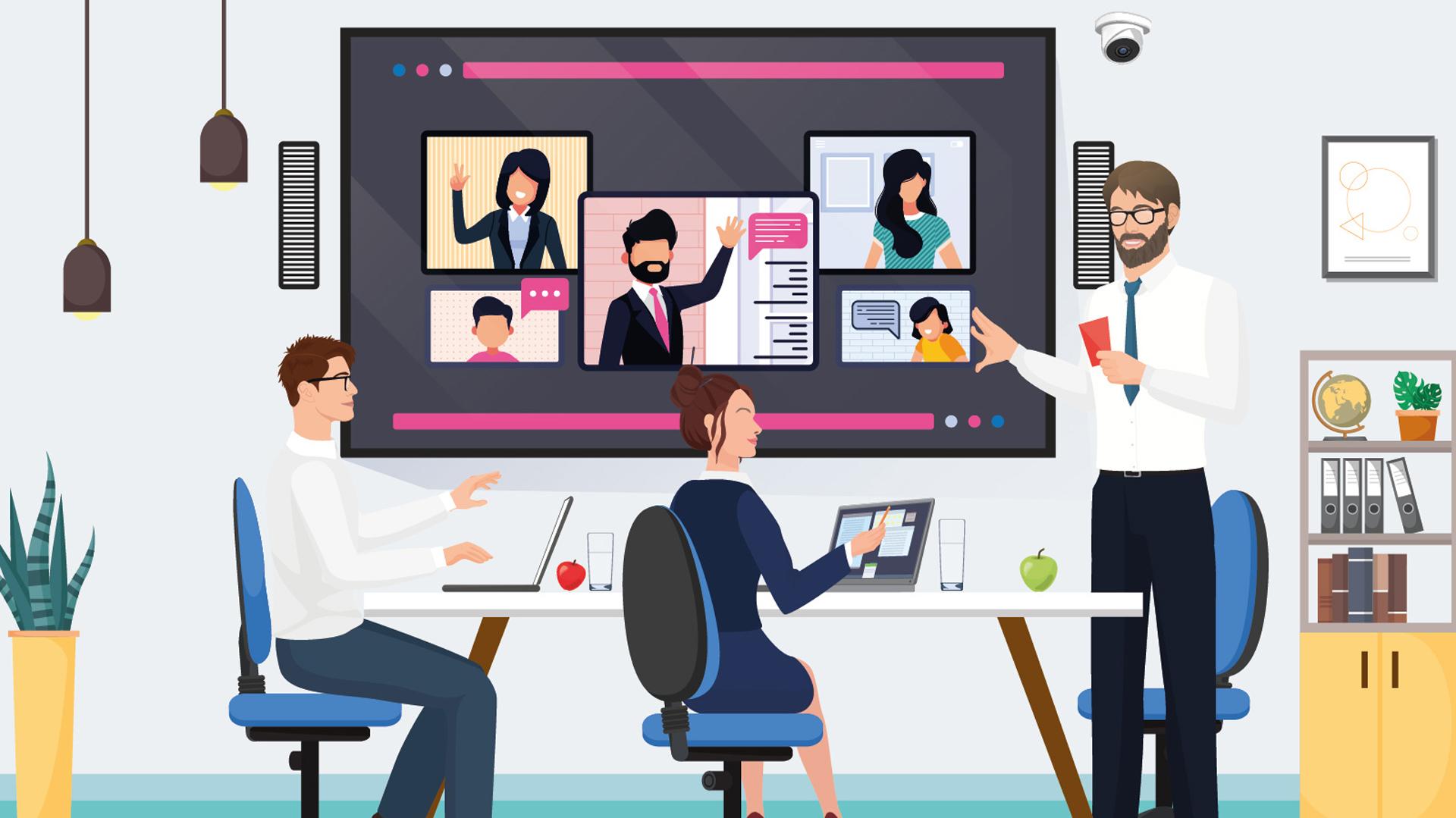 nuove-sale-riunioni-tecnologiche-teams-touchwindow-Level-Office-Landscape