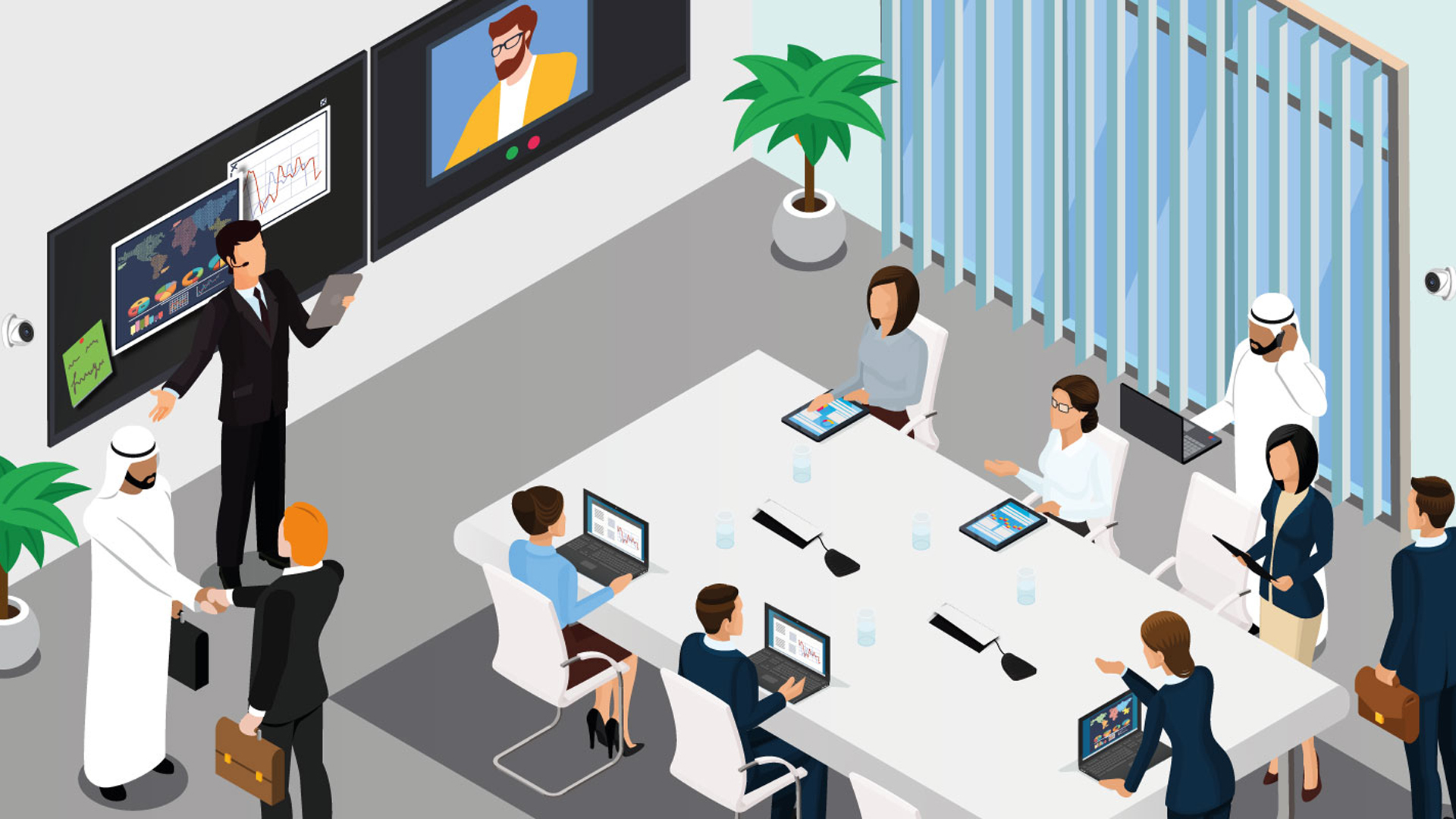 nuove-sale-riunioni-videoconference-touchwindow-Level-Office-Landscape