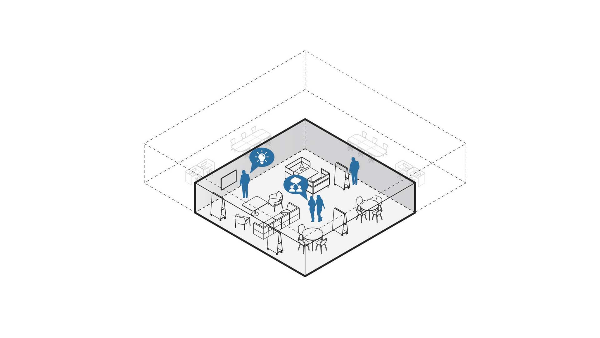 ufficio-del-futuro-4-modelli-Club-Level-Office-Landscape
