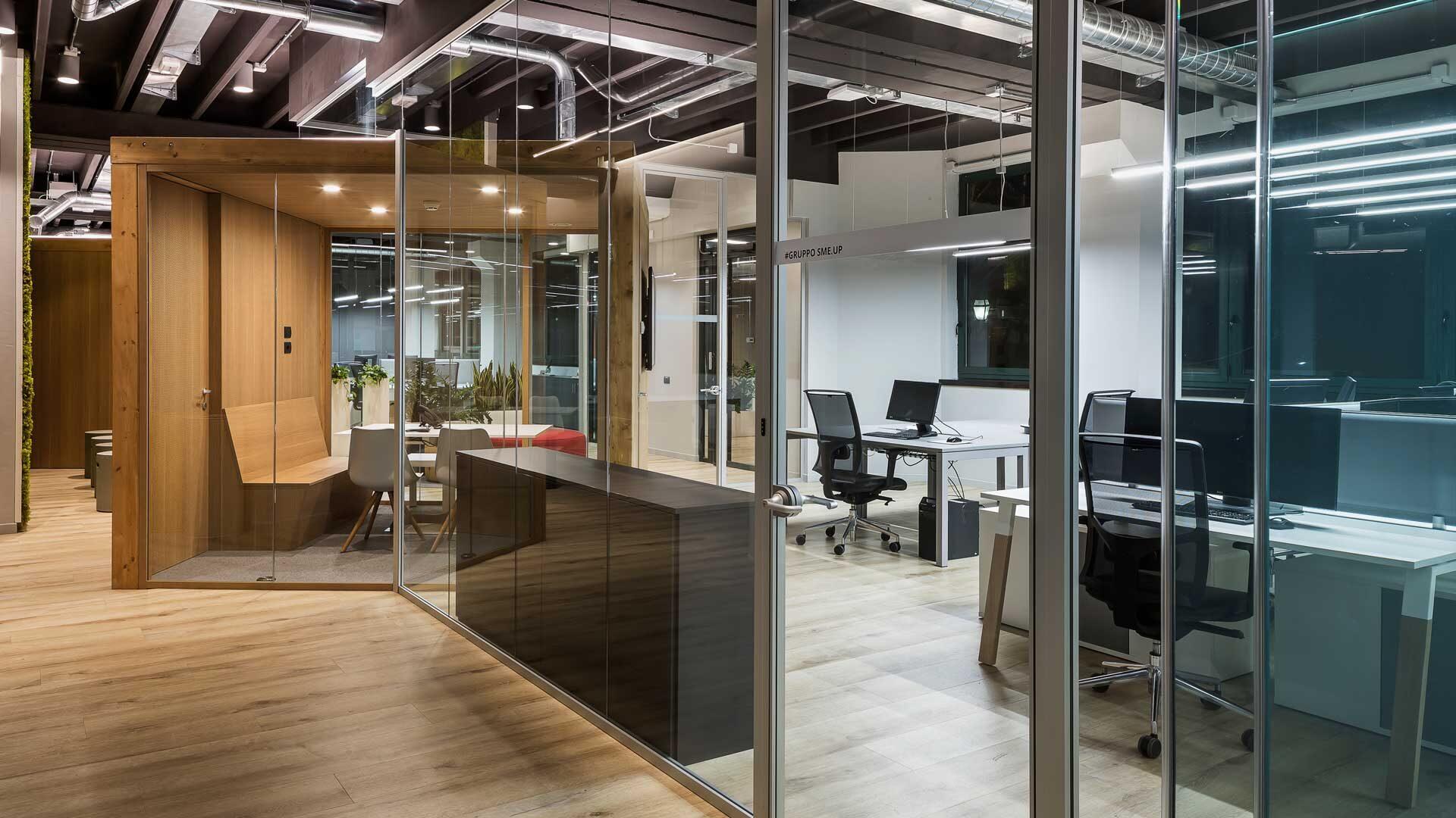 Pareti-divisorie-ufficio-quali-scegliere-Level-Office-Landscape