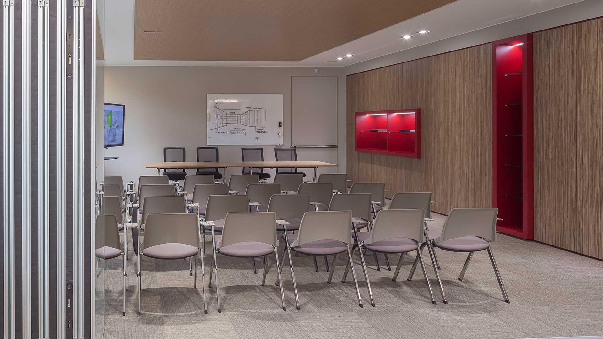 pareti-attrezzate-ufficio-whitney-Level-Office-Landscape
