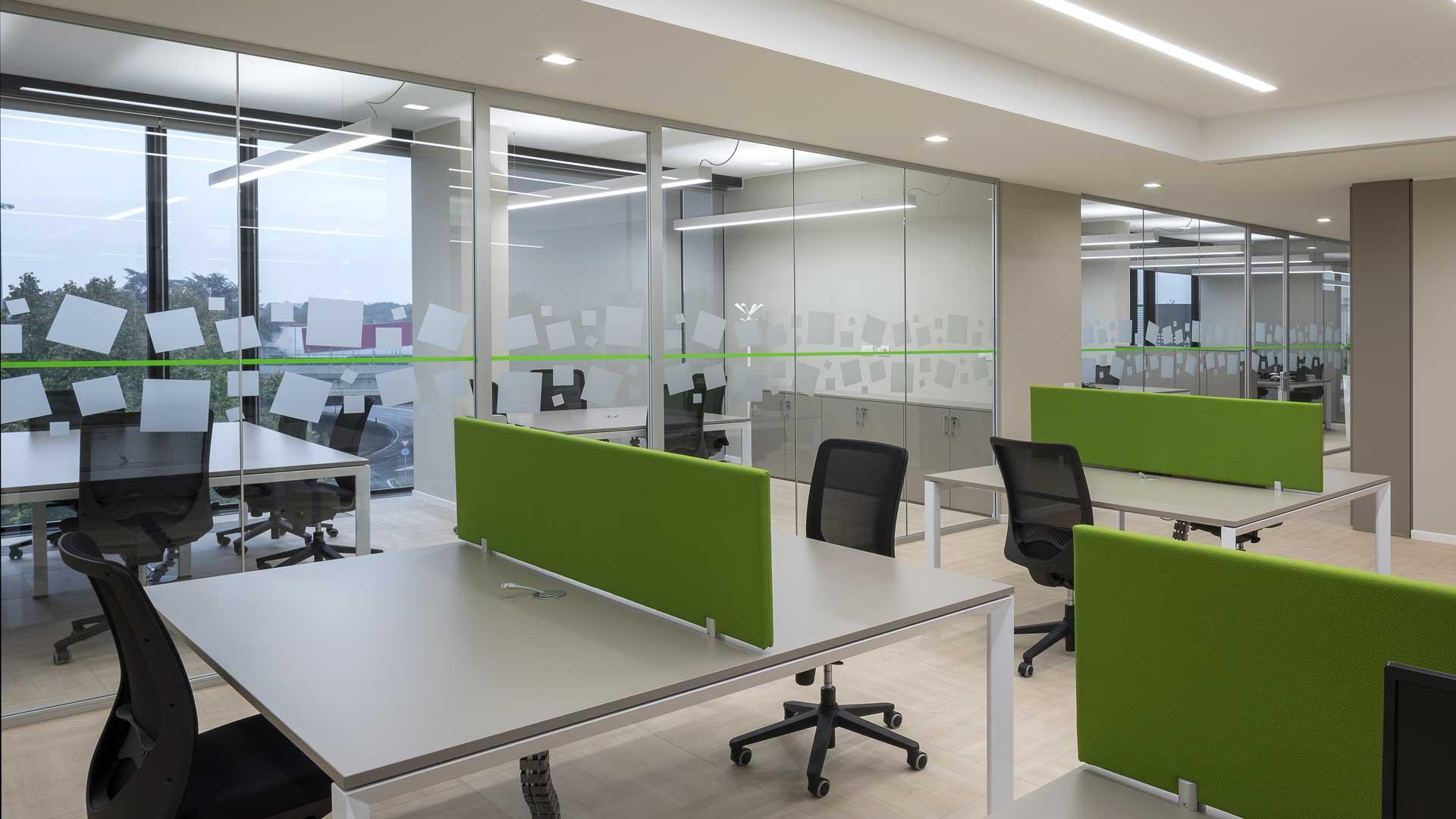 Materiali-per-l'ufficio-Feltro-controsoffitti-screen-divisori-Level-Office-Landscape