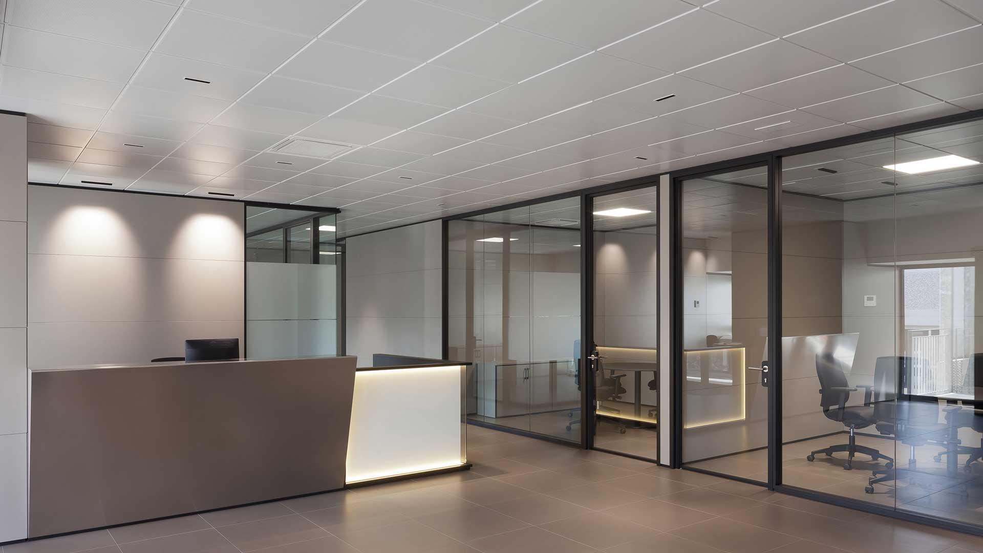 Controsoffitti-per-ufficio-materiali-tipologie-Level-Office-Landscape