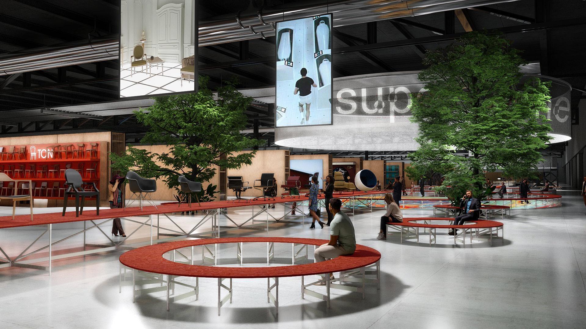 Supersalone 2021 cosa vedere in fiera Level Office Landscape